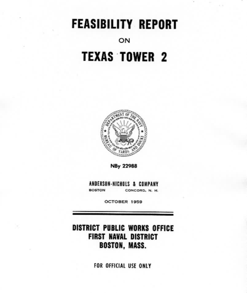 Drawings from 1959 upgrade feasibility study